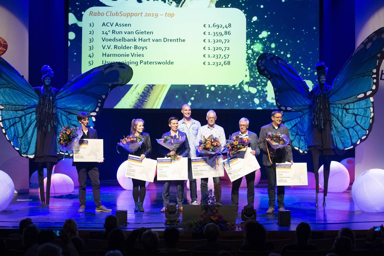 Assen - Uitslag Rabobank Clubsupport Drenthe