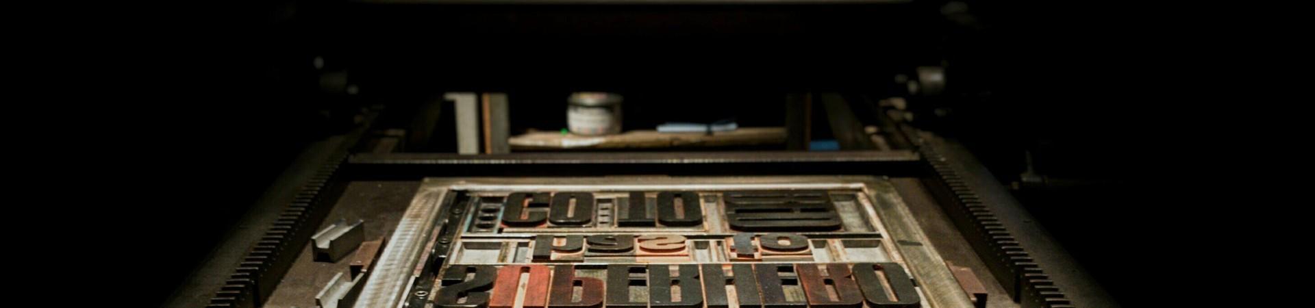 Ambachtelijk drukwerk
